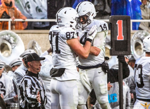 Penn State Football: Clifford, Freiermuth Offer Up Defense Of Rahne Following Loss